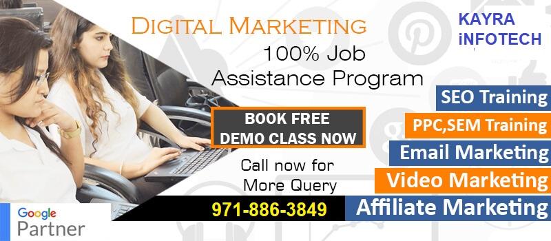 Best Digital Marketing Course Training in Rajouri Garden Delhi