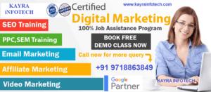 Digital Marketing Course in Bahadurgarh