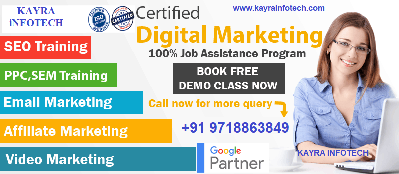 Digital Marketing Course in Bahadurgarh